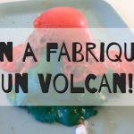 Volcan fait maison DIY