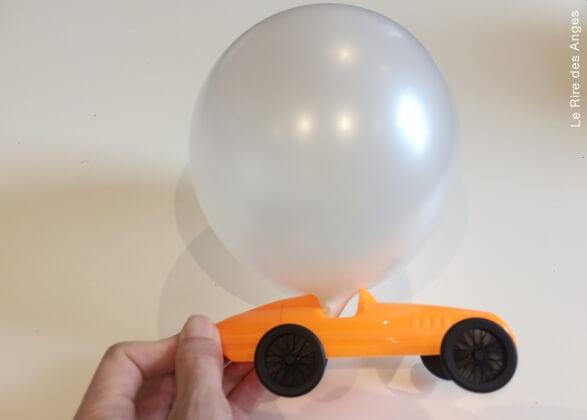 fabriquer une voiture a air pulse
