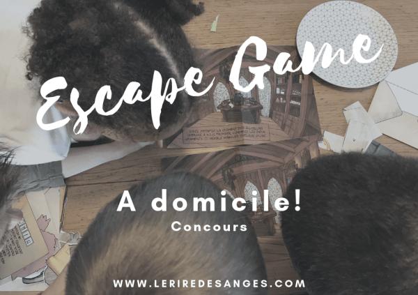 escape game a domicile