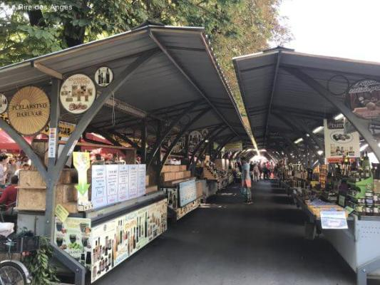 marché couvert Pula