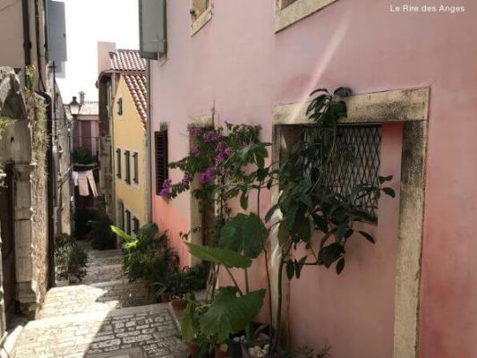rue colorée Rovinj