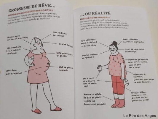 grossesse de reve vs réalité