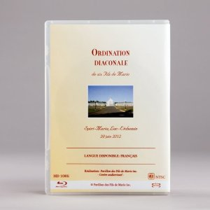 Blu-ray de l'ordination du 29 juin 2012
