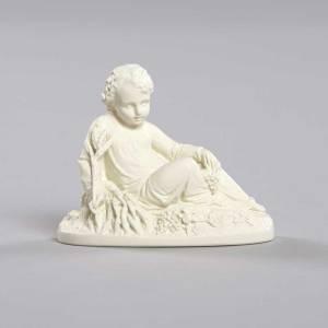 Statue Jésus Enfant assis