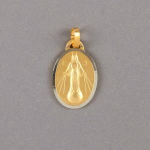 médaille dame de tous les peuples-19mm-dorée-avers