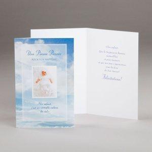 carte baptême-pour le baptême de bébé