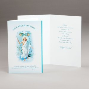 easter card-an easter of love