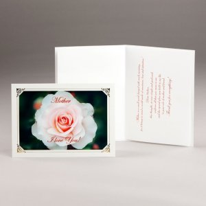 mother's day card-majestic rose