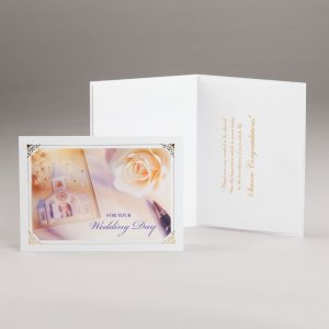 engagement or wedding card-for your wedding day