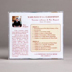 marie-paule et la co-rédemption-cd double-b