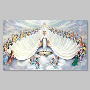 holy picture - queeen of angels