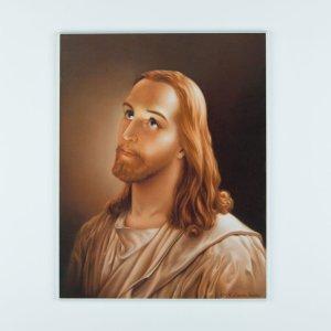 plaquette laminée de jésus