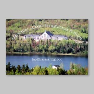 carte postale - centre eucharistique et marial