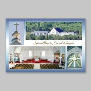 carte postale - spiri-maria - intérieur et extérieur