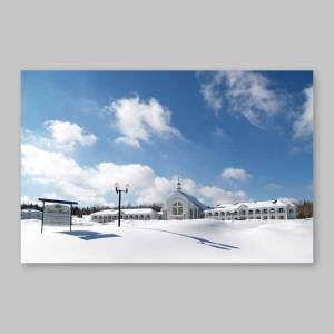 carte postale - l'hiver à spiri-maria
