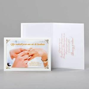 carte mariage-vie de bonheur