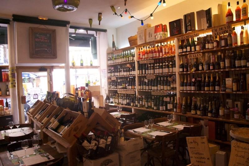 8 rue de maubeuge, rayons des vins blancs