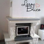 Repeindre Une Cheminee Ancienne Leroy Brico