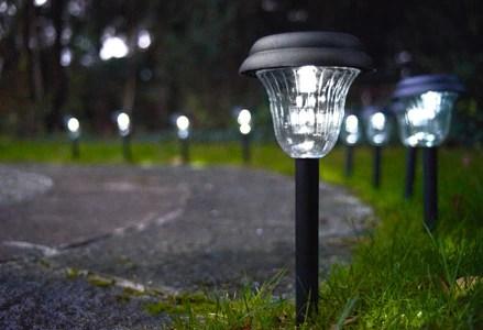 Iluminacion Jardin Solar