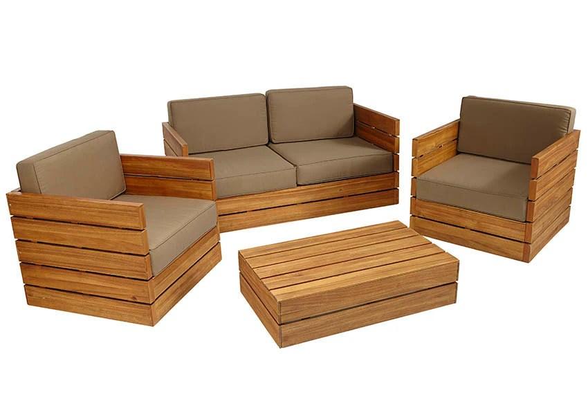 Sofas Madera Madera Tiger Mahogany Platform Bed With