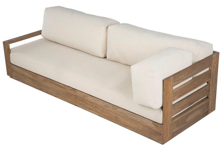 Sof de madera de teca CORNER BAHIA Ref 19191263  Leroy