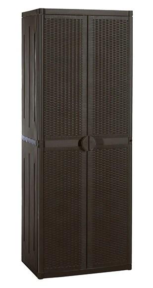 armario de resina multi alto rattan Ref 16505986  Leroy