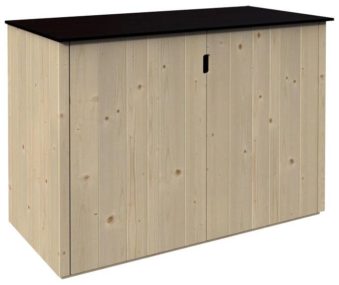 Armario de madera BASSE 120x60x90CM Ref 19468694  Leroy