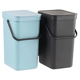 Resultat d'imatges de cubos de basura