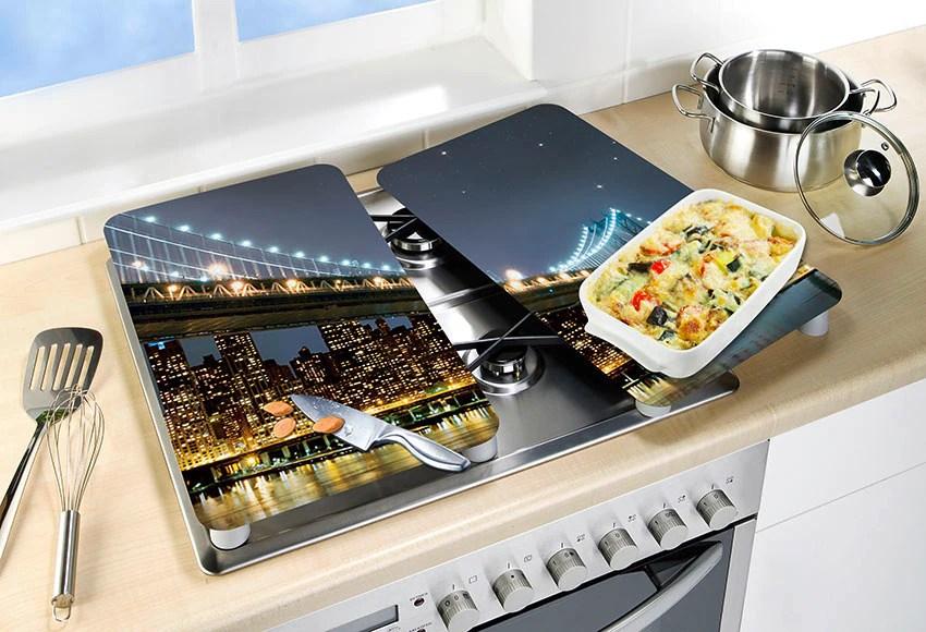 protection pour plan de travail cuisine