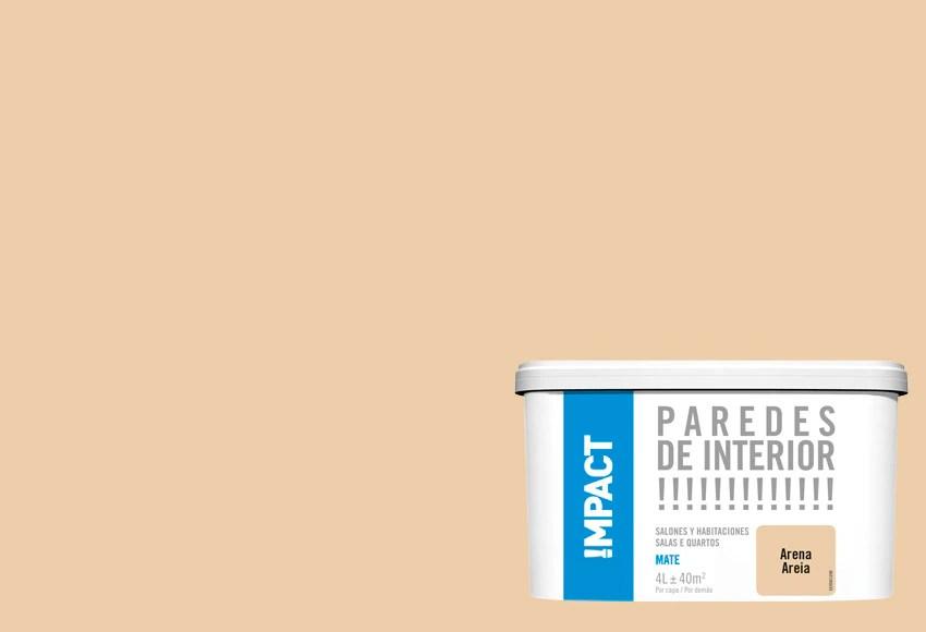 Pintura de color para paredes y techos ARENA IMPACT Ref