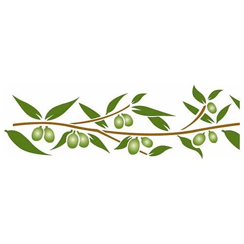 Plantilla decorativa Les decoratives N 101 Plantilla