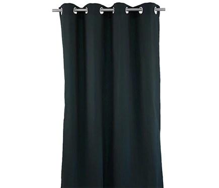 Cortina con ollaos Inspire Sunny Negra Ref 18802945