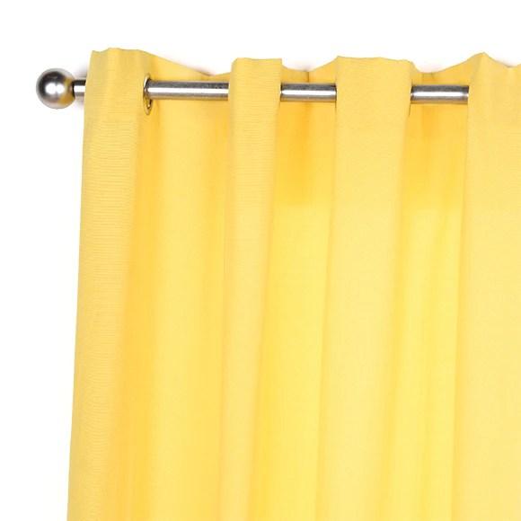 Cortina con ollaos Inspire Sunny Amarilla Ref 18803260