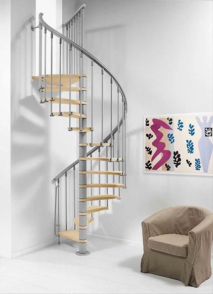 Escalera de caracol NICE Ref 14608216  Leroy Merlin