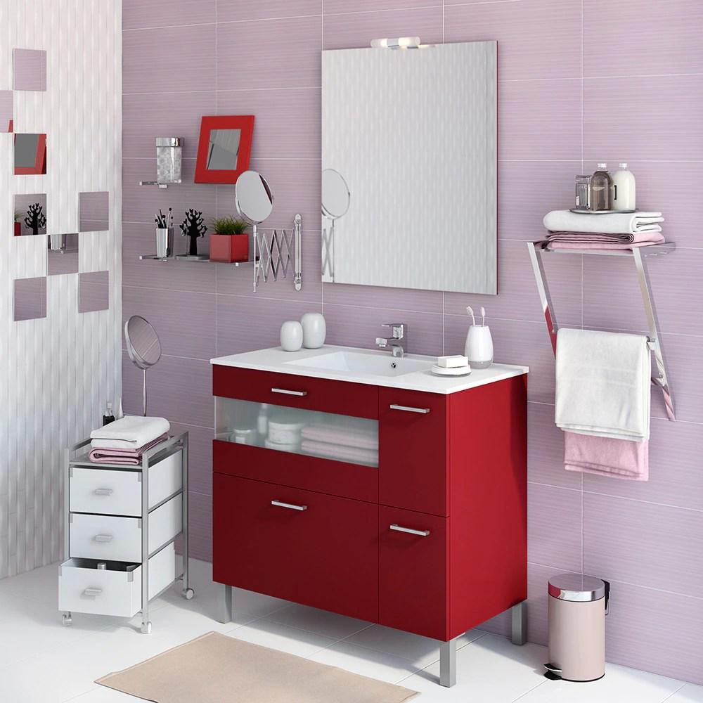 Mueble de lavabo FOX Ref 16729426  Leroy Merlin