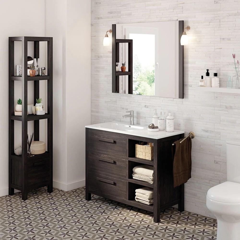 Mueble de lavabo AMAZONIA Ref 17863993  Leroy Merlin