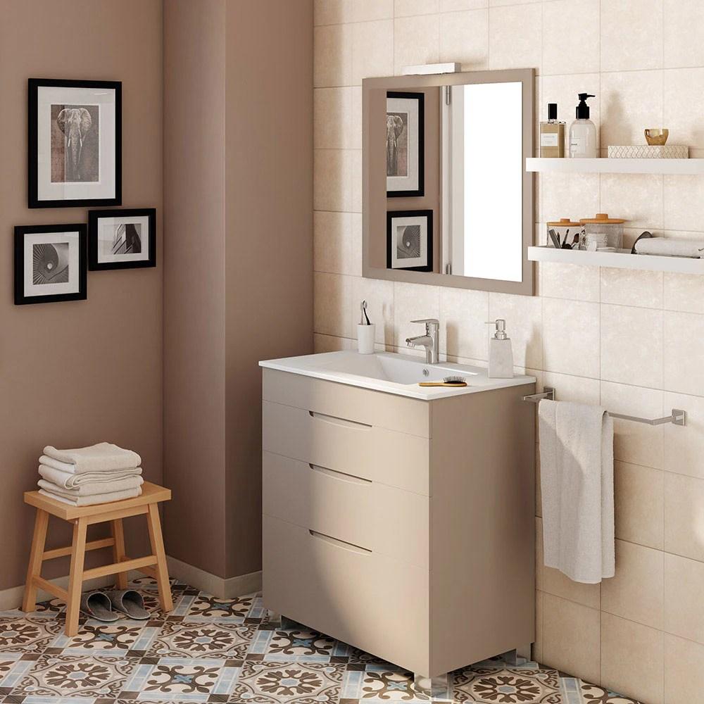 Mueble de lavabo ASIMETRICO Ref 17620666  Leroy Merlin