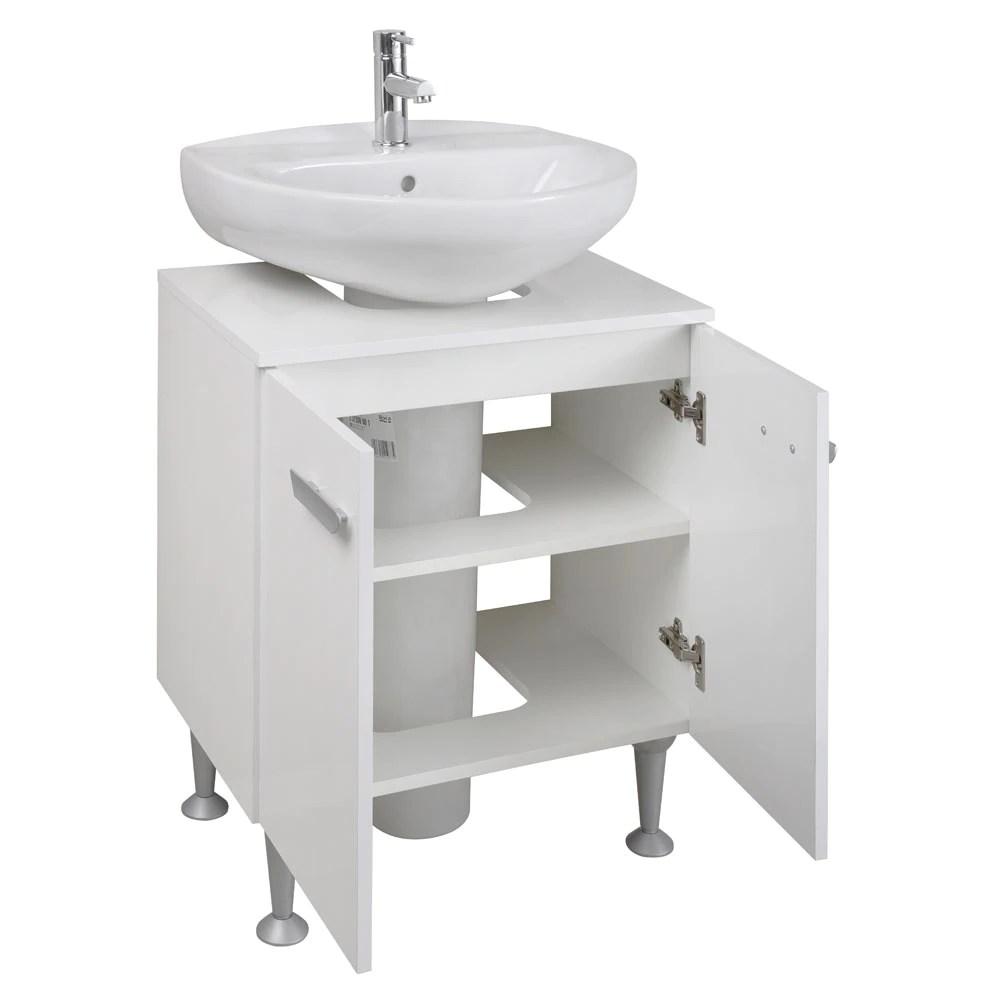 Mueble de lavabo PEDESTAL KIT Ref 81868600  Leroy Merlin