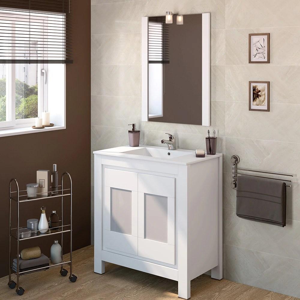 Mueble de lavabo VERSALLES Ref 16716553  Leroy Merlin
