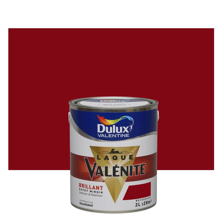 Peinture Multisupports Valnite DULUX VALENTINE Rouge