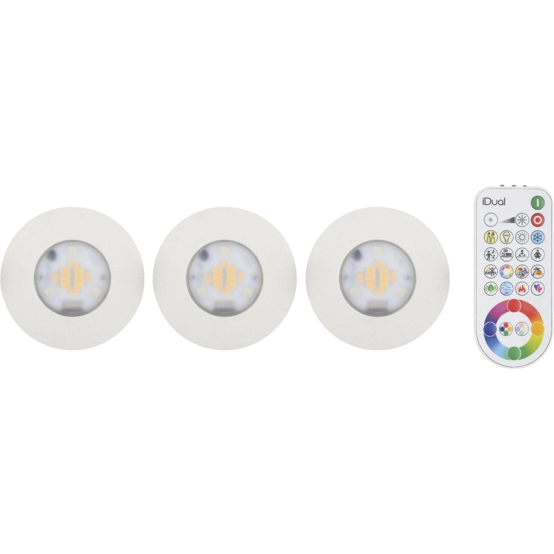 Elegant Kit Spots Encastrer Salle De Bains Idual Fixe Led