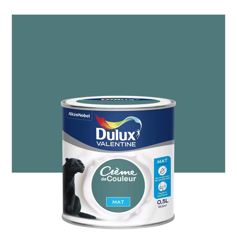 Peinture Bleu Eucalyptus DULUX VALENTINE Crme De Couleur