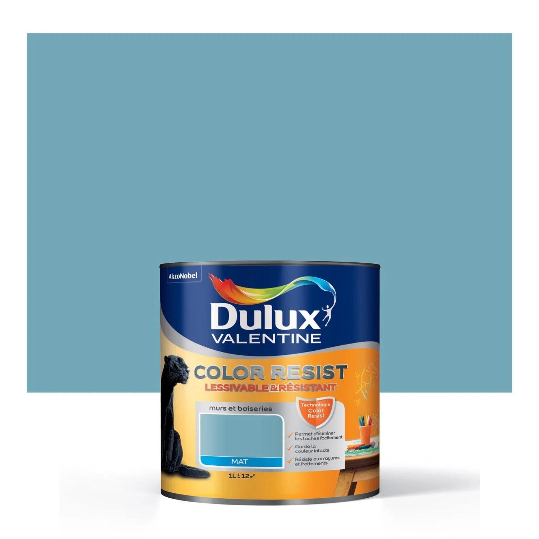 Peinture Bleue Et Verte Dulux Valentine Bleu Paon Dulux