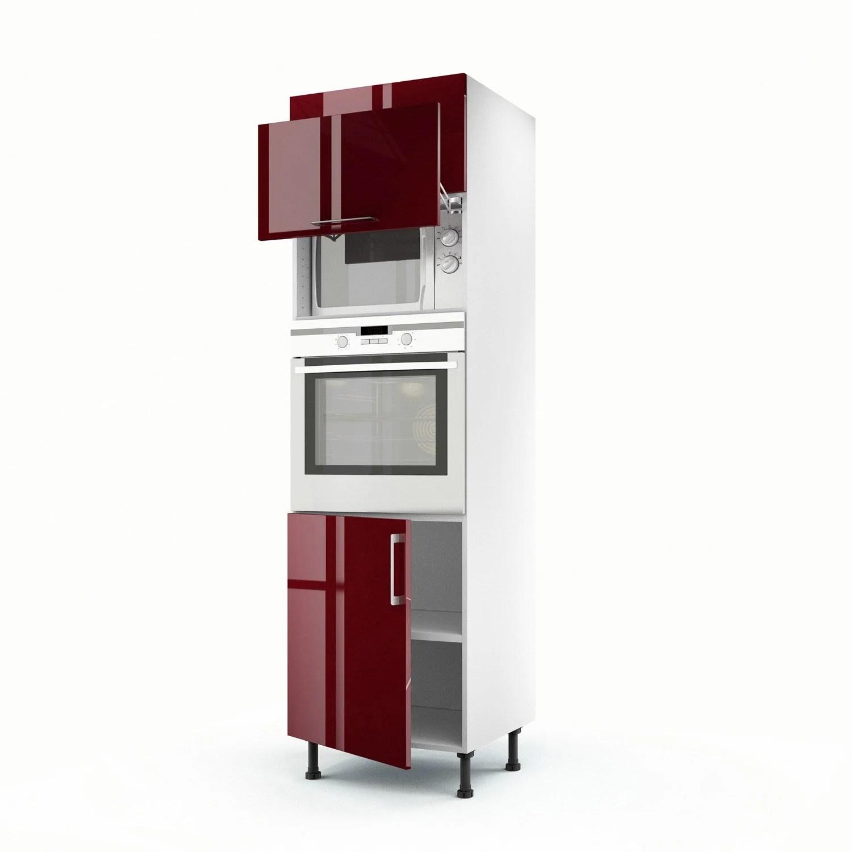 meuble cuisine colonne four micro onde