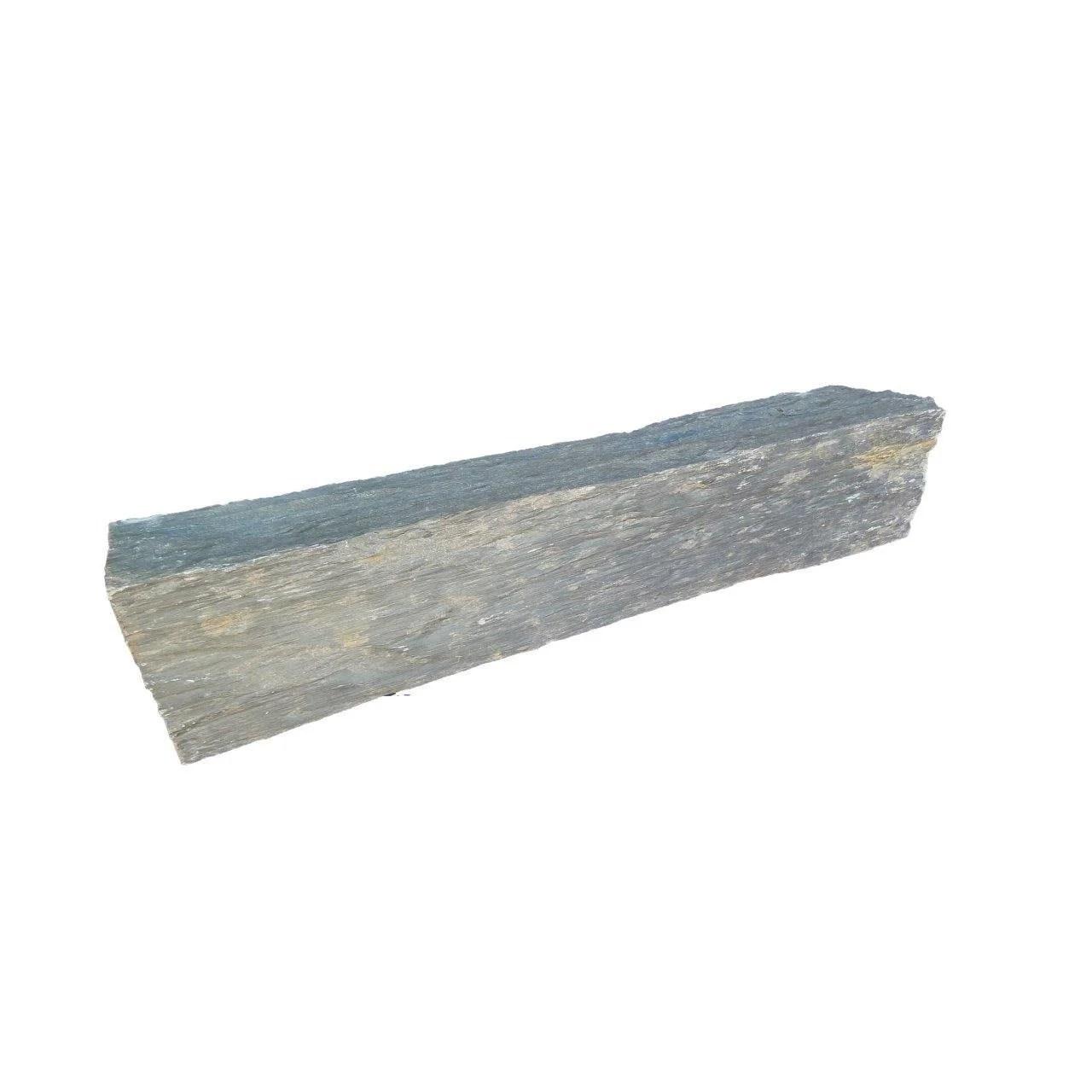 V p produits bordure droite ardoise gris h x l cm e for Bordure de jardin beton brico depot