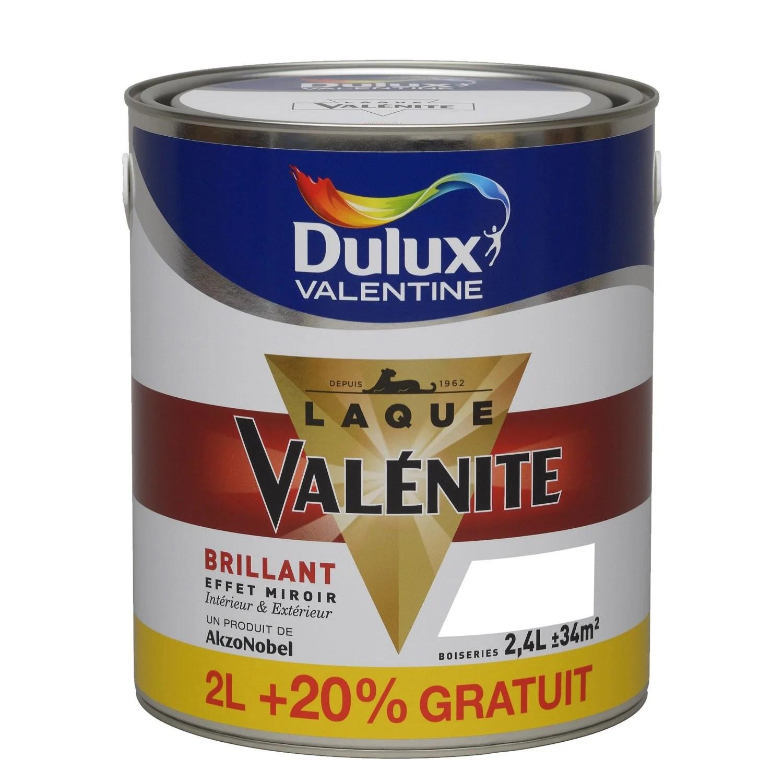 Peinture Valnite DULUX VALENTINE Blanc 25 l  Leroy Merlin