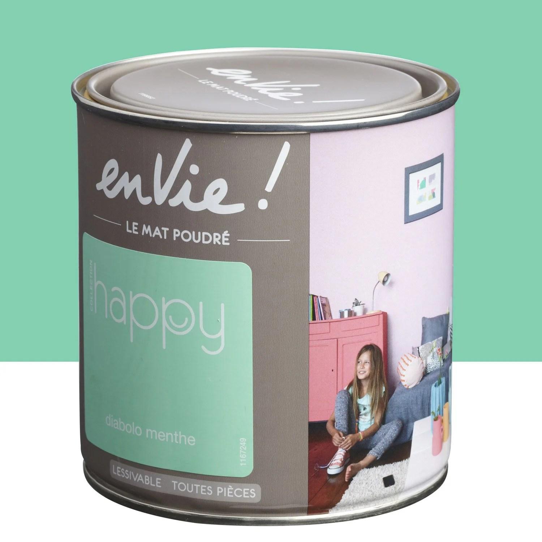 V P Produits Peinture Vert Diabolo Menthe Luxens Envie Collection Happy L E