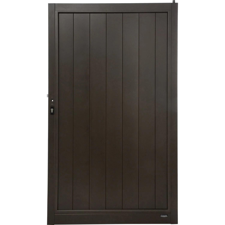 leroy merlin de portail comment poser un portail battant. Black Bedroom Furniture Sets. Home Design Ideas