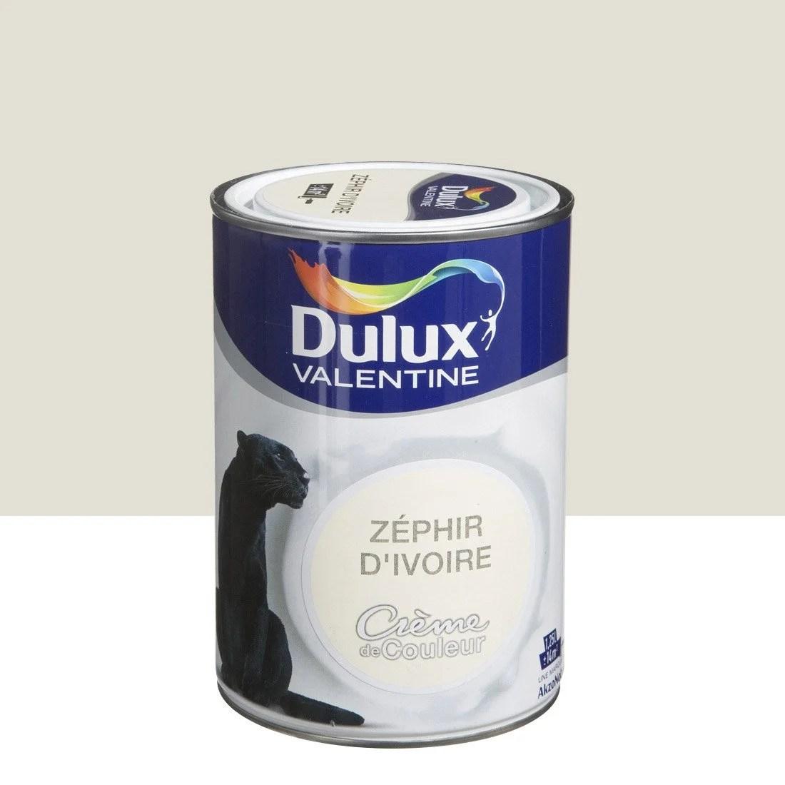 Peinture Zphir Divoire DULUX VALENTINE Crme De Couleur
