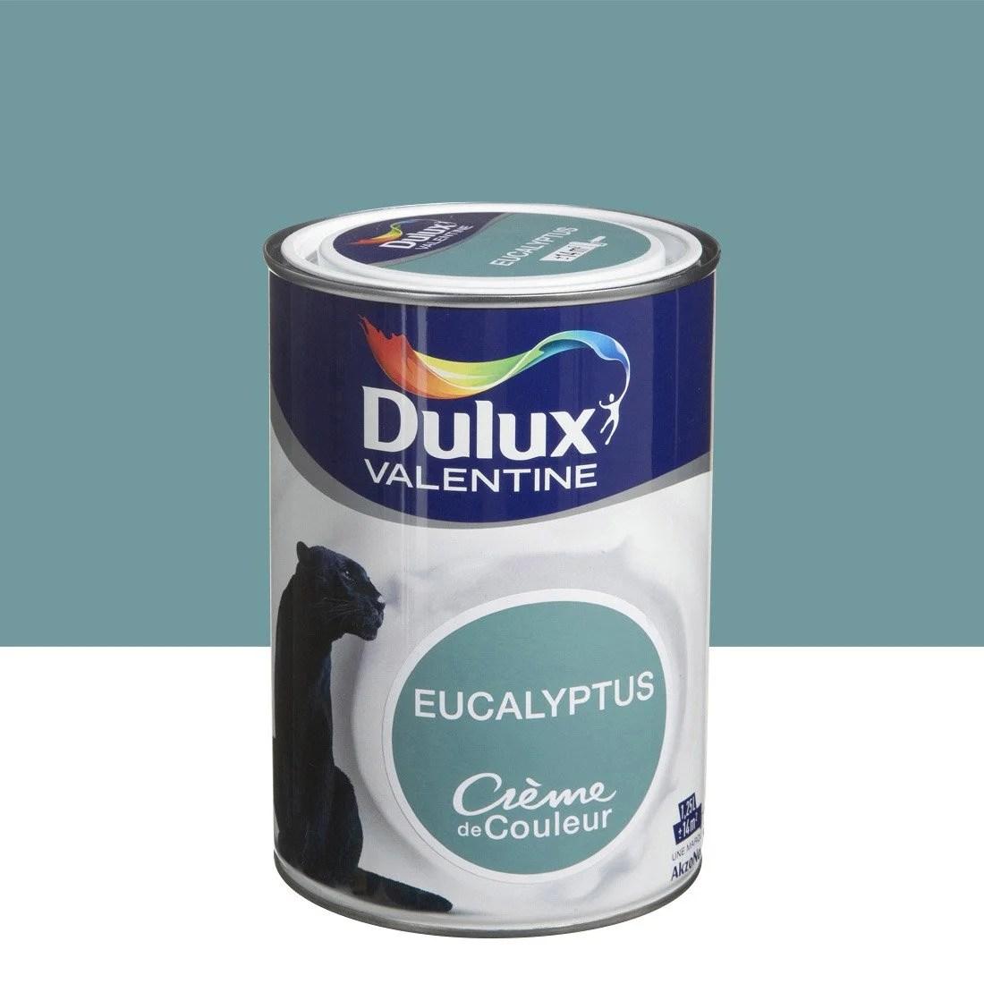 Peinture Vert Eucalyptus DULUX VALENTINE Crme De Couleur